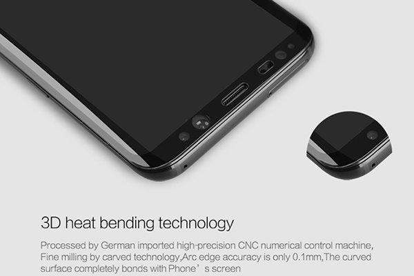 【ネコポス送料無料】Galaxy S8 強化ガラスフィルム ナノコーティング 硬度9H [3]