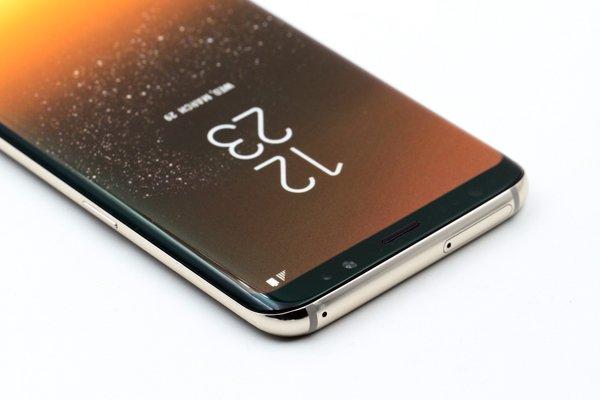 【ネコポス送料無料】Galaxy S8 モックアップ(展示用模型)ゴールド [6]