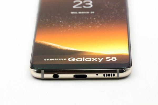【ネコポス送料無料】Galaxy S8 モックアップ(展示用模型)ゴールド [7]