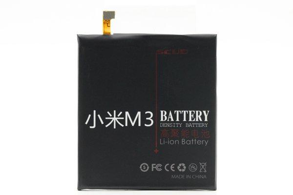 【ネコポス送料無料】Xiaomi (小米) Mi3 SCUD製バッテリー LWL-BM31 3050mAh [1]
