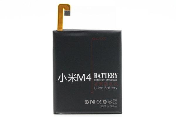 【ネコポス送料無料】Xiaomi (小米) Mi4 SCUD製バッテリー LML-BM32 3000mAh [1]