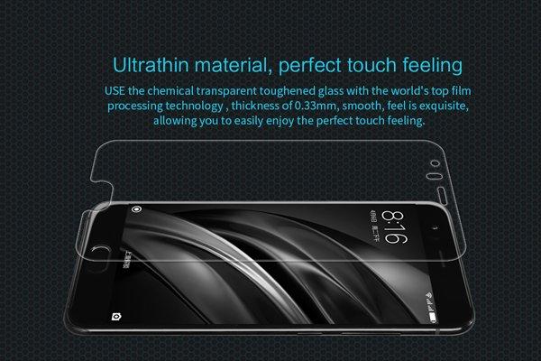 【ネコポス送料無料】Xiaomi (小米) Mi6 強化ガラスフィルム ナノコーティング 硬度9H  [2]