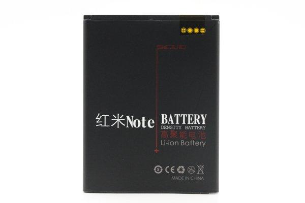 【ネコポス送料無料】Xiaomi(小米)紅米Note SCUD製バッテリー BM42 3200mAh [1]