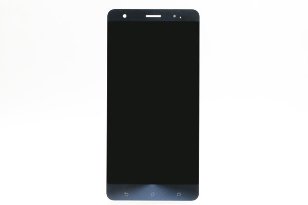 Zenfone3 Deluxe(ZS570KL)フロントパネル 修理 ブルー [1]