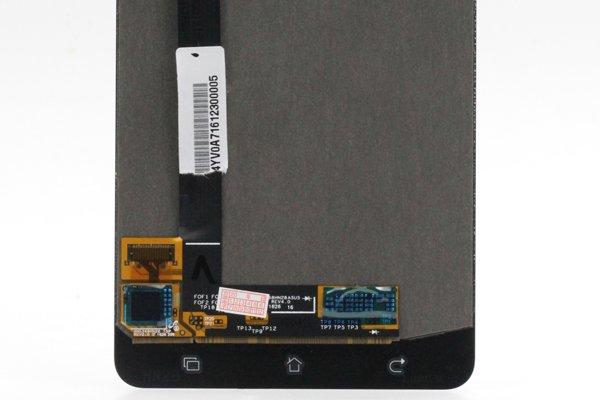 Zenfone3 Deluxe(ZS570KL)フロントパネル 修理 ブルー [4]