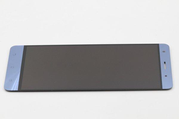 Zenfone3 Deluxe(ZS570KL)フロントパネル 修理 ブルー [6]