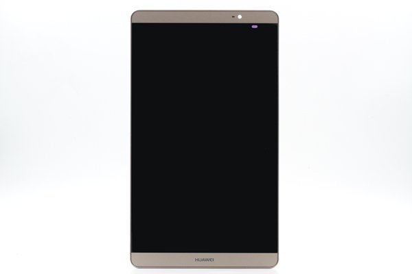 Huawei MediaPad M2-803L(dtab Compact d-02H)フロントパネルASSY ゴールド [1]