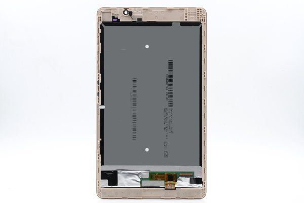 Huawei MediaPad M2-803L(dtab Compact d-02H)フロントパネルASSY ゴールド [2]
