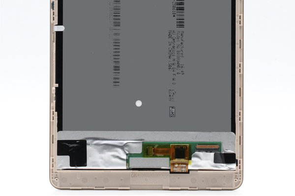 Huawei MediaPad M2-803L(dtab Compact d-02H)フロントパネルASSY ゴールド [4]