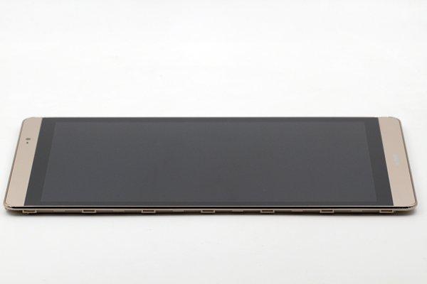 Huawei MediaPad M2-803L(dtab Compact d-02H)フロントパネルASSY ゴールド [5]