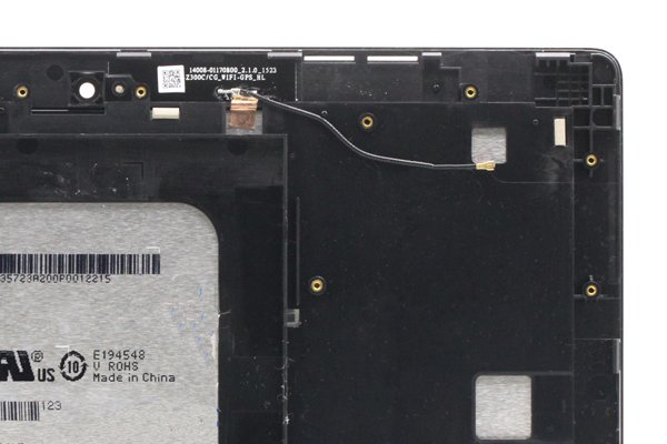 ASUS ZenPad 10(Z300C)フロントパネル ホワイト 修理 [4]