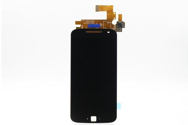 MOTOROLA Moto G4 Plus フロントパネル 交換修理 ブラック [1]
