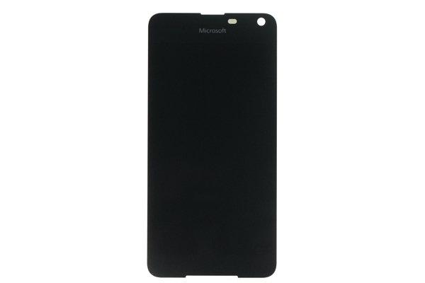 Microsoft Lumia 650 フロントパネル 修理 ブラック [1]