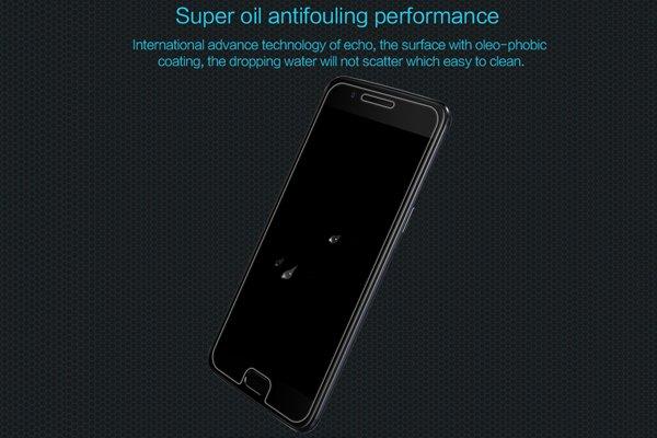 【ネコポス送料無料】OnePlus 5 強化ガラスフィルム ナノコーティング 硬度9H [4]