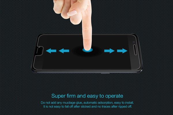 【ネコポス送料無料】OnePlus 5 強化ガラスフィルム ナノコーティング 硬度9H [5]