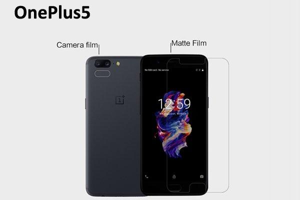 【ネコポス送料無料】OnePlus 5 液晶保護フィルムセット アンチグレアタイプ [1]
