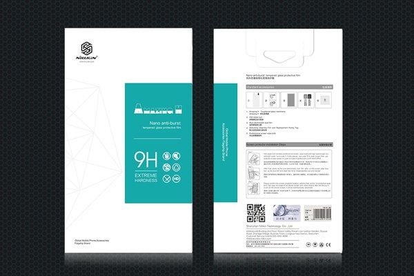 【ネコポス送料無料】Motorola Moto Z2 Play 強化ガラスフィルム ナノコーティング 硬度9H [8]