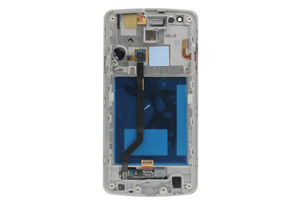 isai LGL22 フロントパネルASSY ホワイト 交換修理 [2]