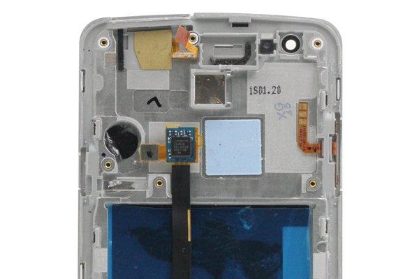 isai LGL22 フロントパネルASSY ホワイト 交換修理 [3]