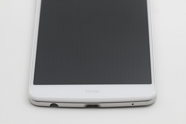 isai LGL22 フロントパネルASSY ホワイト 交換修理 [8]