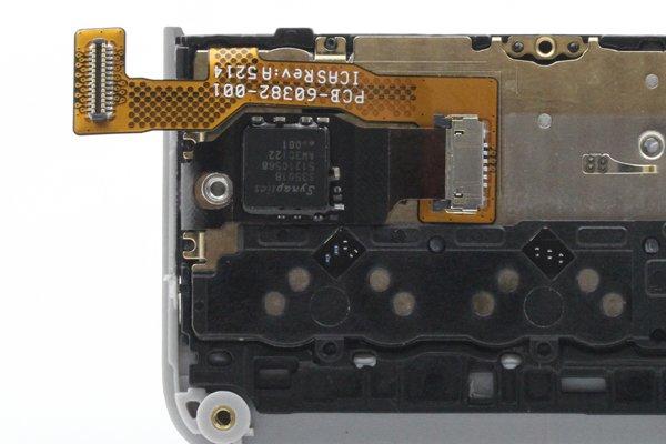 【ネコポス送料無料】Blackberry Passport Silver Edition キーボードASSY [3]