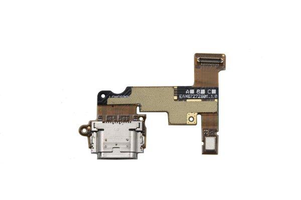 【ネコポス送料無料】LG G6 USB TYPE-C コネクターボードASSY [2]