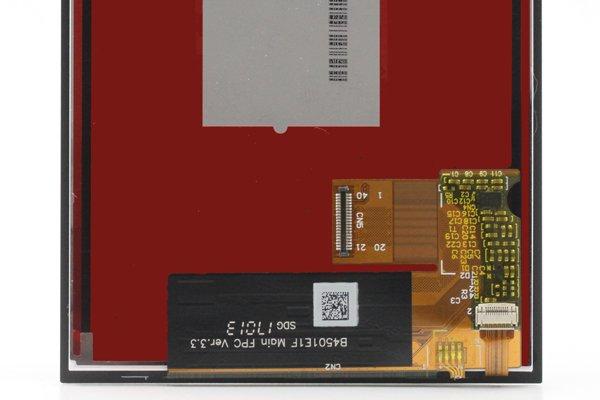 Blackberry Keyone フロントパネル交換修理 [3]