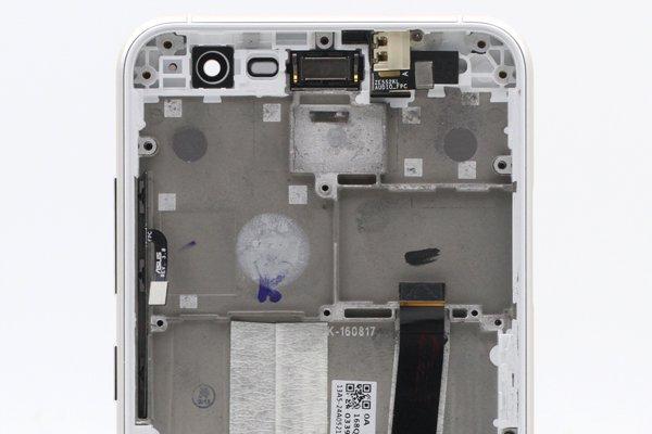 Zenfone3 (ZE520KL) フロントパネルASSY 交換修理 全3色 [11]