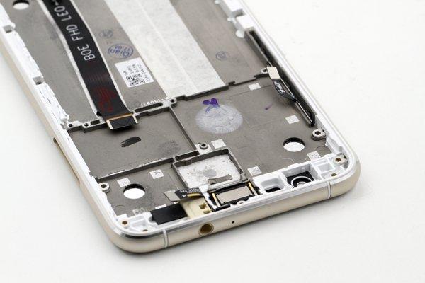 Zenfone3 (ZE520KL) フロントパネルASSY 交換修理 全3色 [16]