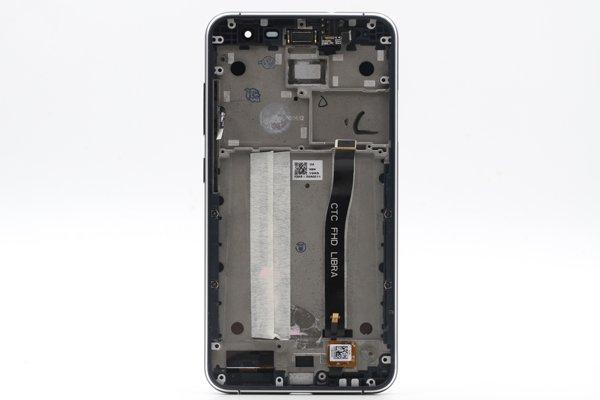 Zenfone3 (ZE552KL) フロントパネルASSY ブラック 修理 [2]