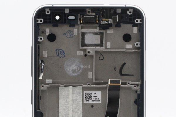 Zenfone3 (ZE552KL) フロントパネルASSY ブラック 修理 [3]