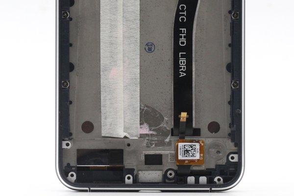 Zenfone3 (ZE552KL) フロントパネルASSY ブラック 修理 [4]