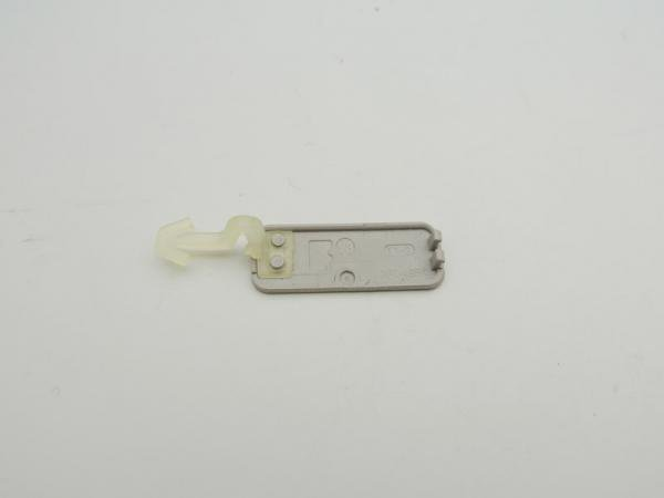 【ネコポス送料無料】NOKIA N82 SDスロットカバー シルバー  [2]