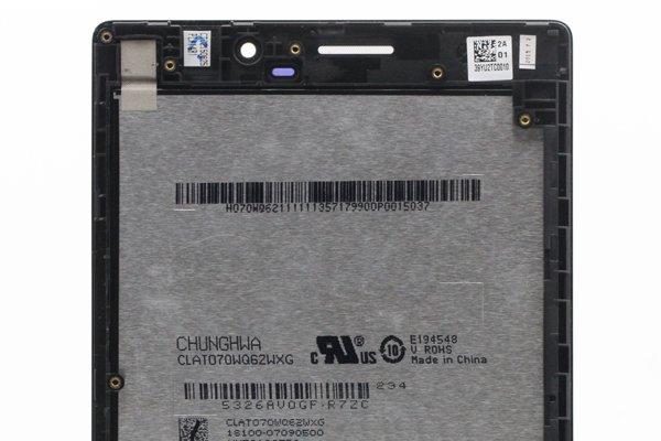 ASUS ZenPad7.0 (Z370C,Z370CG共通) フロントパネルASSY 交換修理 全2色 [3]