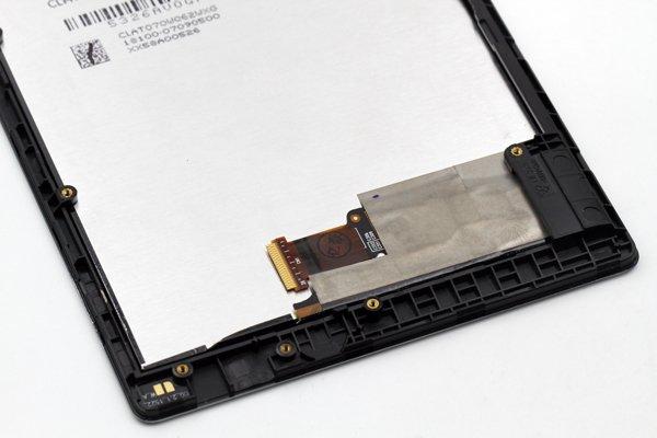 ASUS ZenPad7.0 (Z370C,Z370CG共通) フロントパネルASSY 交換修理 全2色 [5]