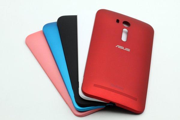 【ネコポス送料無料】Zenfone Go (ZB551KL) バックカバー 全5色 [1]