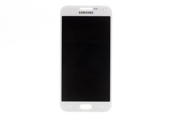 Galaxy E5 フロントパネル ホワイト 交...