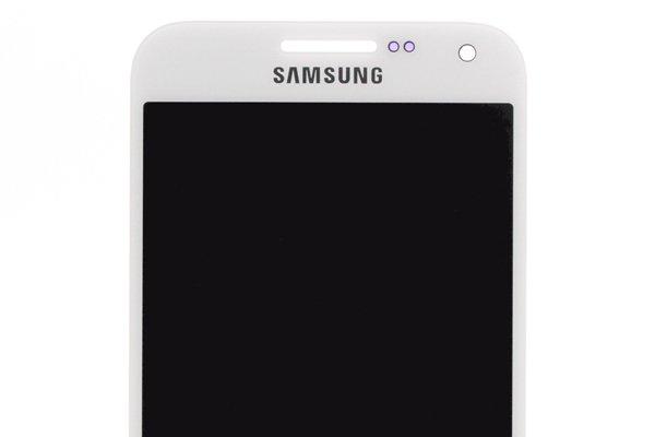 Galaxy E5 フロントパネル ホワイト 交換修理 [3]