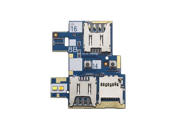 【ネコポス送料無料】Zenfone Go(ZB551KL)SIMスロットボードASSY [1]