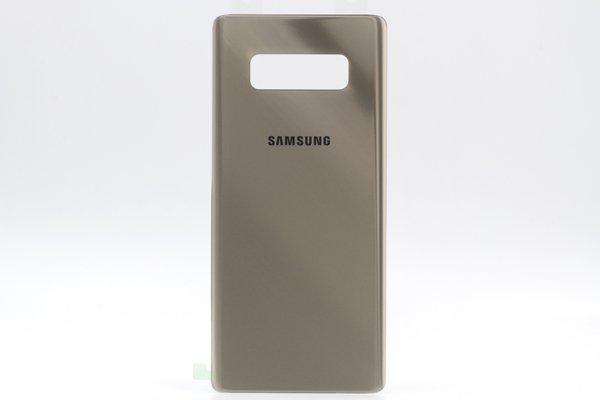 【ネコポス送料無料】Galaxy Note8 バックカバー 全4色 [7]