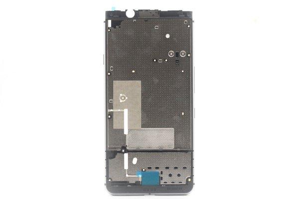 【ネコポス送料無料】Blackberry Keyone ミドルケース シルバー [1]