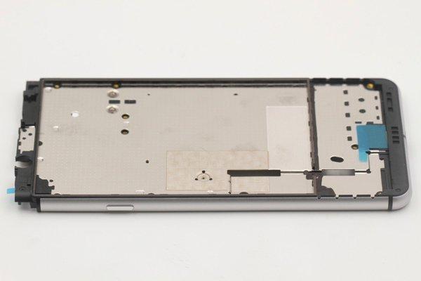 【ネコポス送料無料】Blackberry Keyone ミドルケース シルバー [5]