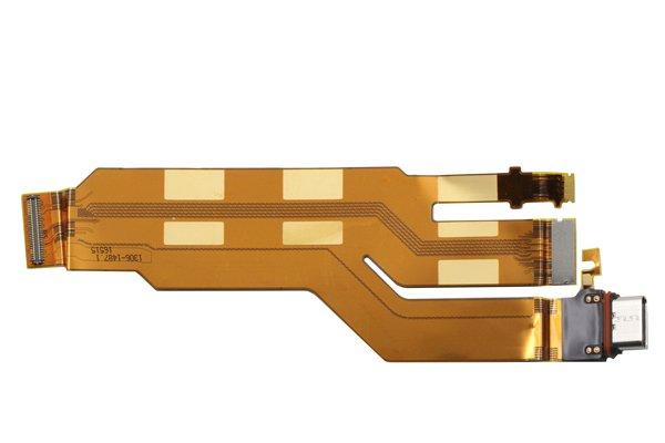 【ネコポス送料無料】Xperia XZ USB Type-C コネクターケーブル [2]