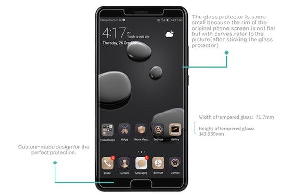 【ネコポス送料無料】Huawei Mate10 強化ガラスフィルム ナノコーティング 硬度9H  [7]