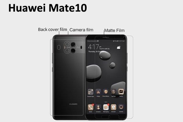 【ネコポス送料無料】Huawei Mate10 液晶保護フィルムセット アンチグレアタイプ  [1]