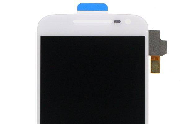 MOTOROLA Moto G4 フロントパネル ホワイト 修理 [3]