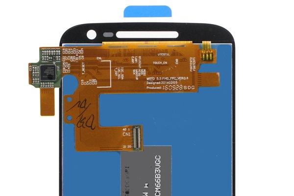 MOTOROLA Moto G4 フロントパネル ホワイト 修理 [4]