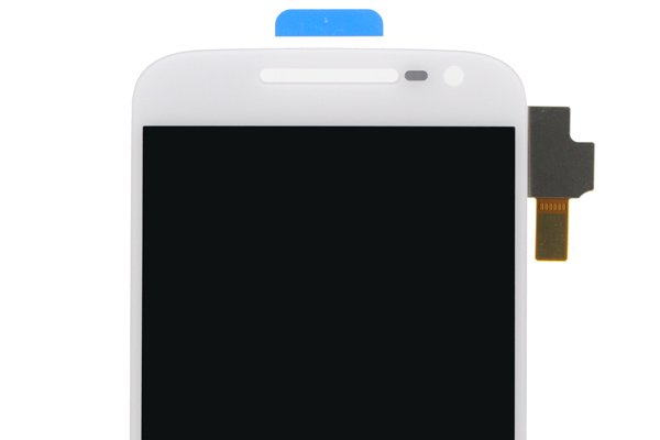 MOTOROLA Moto G4 Plus フロントパネル ホワイト 修理 [3]