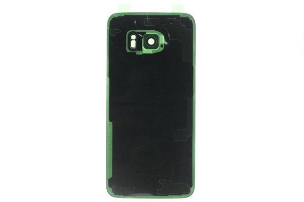 【ネコポス送料無料】Galaxy S7 Edge Duos (SM-G935FD) 背面カバー シルバー [2]