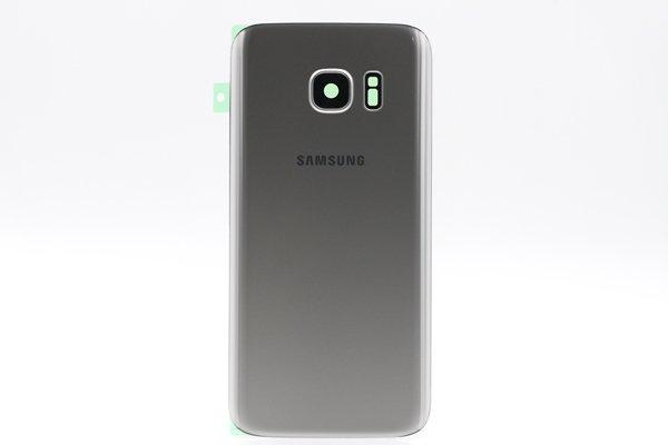 【ネコポス送料無料】Galaxy S7(SM-G930)背面カバー シルバー [1]